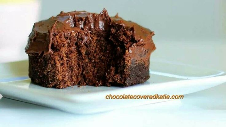 One Minute Chocolate Cake For One | Recipes | Pinterest