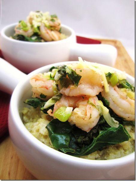 Cheesy Shrimp n' Quinoa | Favorite Recipes | Pinterest