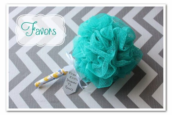 baby shower favors toothbrush loofa baby rattle practical and