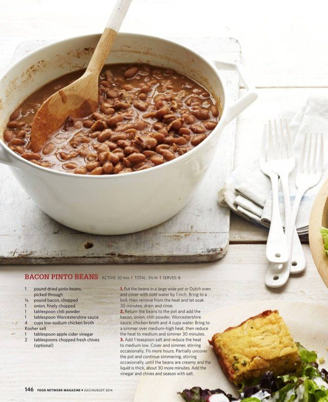 Bacon pinto beans | made it/did it/love it | Pinterest