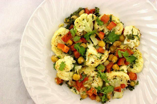 roasted crunchy cauliflower | yuuum | Pinterest