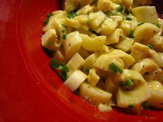 Hearts of Palm Potato Salad | SoBe Food | Pinterest