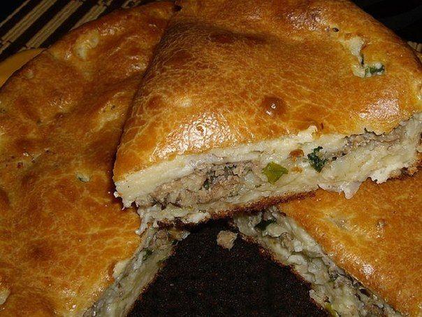 Быстрый пирог с рыбной консервой с