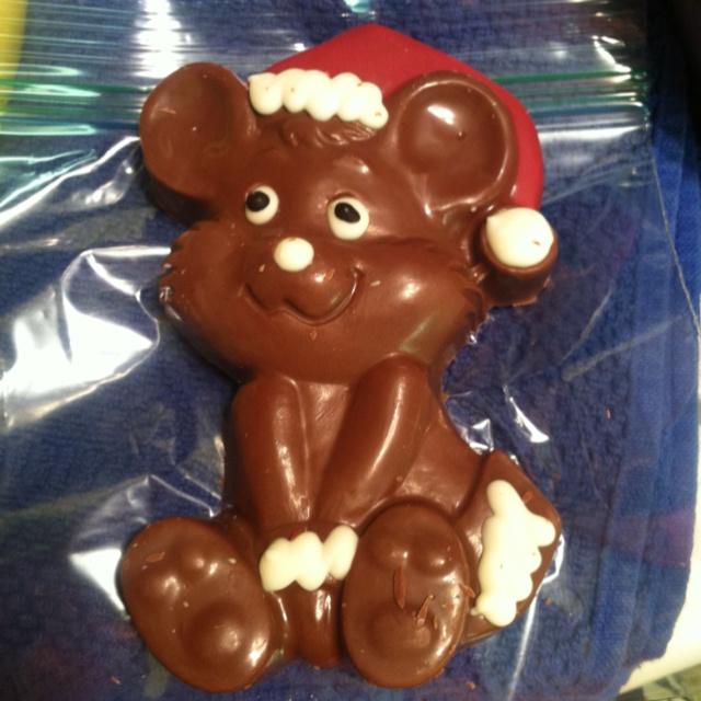 Christmas Chocolate Mouse:)   CHRISTMAS   Pinterest
