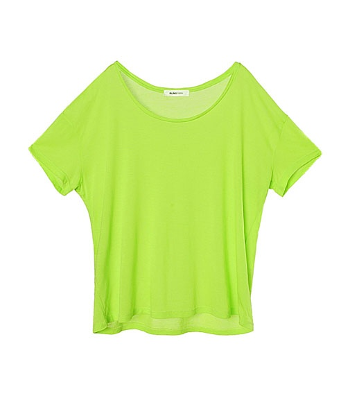 Slouchy neon t shirts in cotton from chicnova
