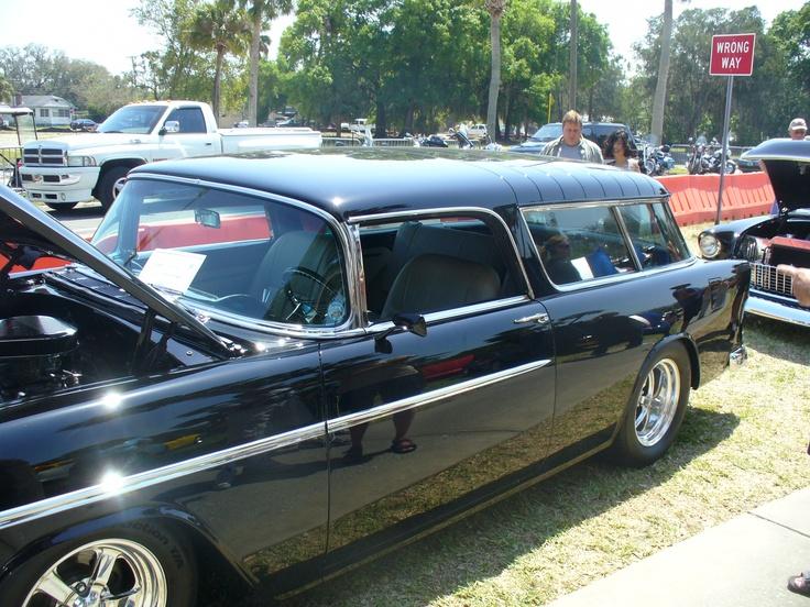 1955 Chevrolet Nomad Wagon | Antique Autos | Pinterest