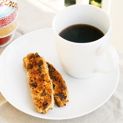 Double Chocolate Coconut Biscotti | Recipe