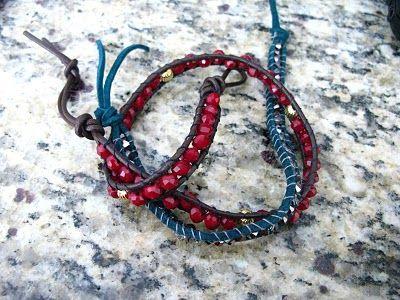 more wrapped bracelets
