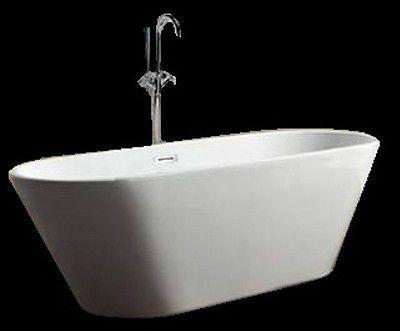 Bathtub Freestanding Acrylic Bathtub Soaking Tub