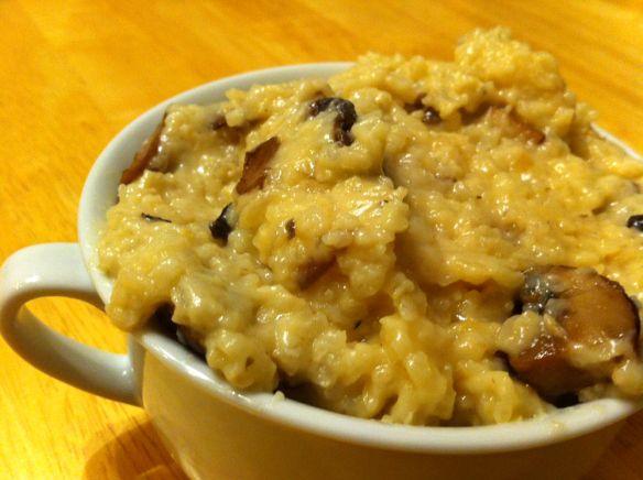 crock pot mushroom risotto | Good eats & Drinks | Pinterest