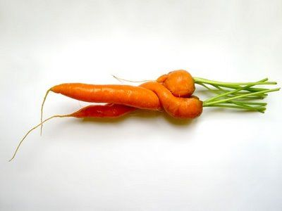 Carrots in Love | Oddities of Reality | Pinterest