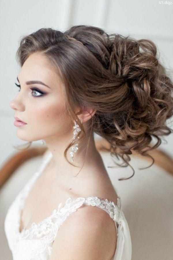 Свадебная прическа собранные волосы с фатой