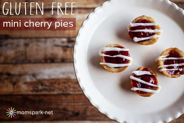gluten free mini cherry pies | Foodie Finds: Sweet | Pinterest