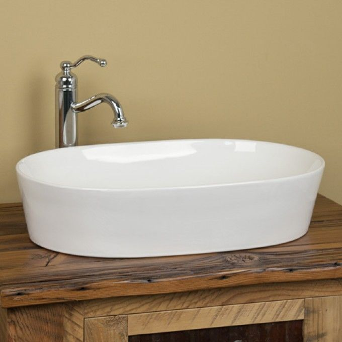 Small Oval Vessel Sink : Norris Oval Vessel Sink - perfect for a small space - love the ...