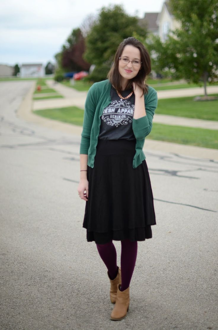 Bramblewood Fashion | Modest Fashion & Beauty Blog: What I Wore | Styling A Graphic Tee + Kosher Casual Review & Giveaway