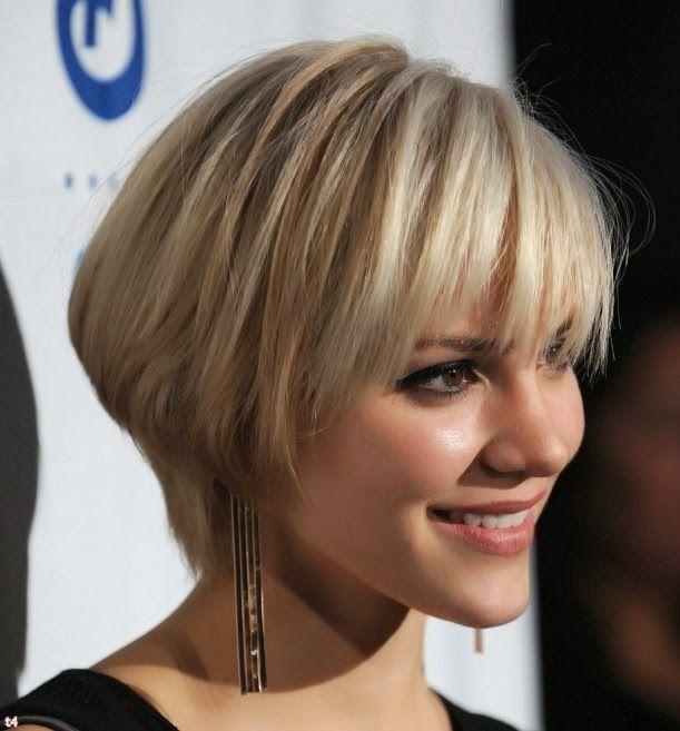 Short Hair Color Trends 2014 | COIFFURES | Pinterest