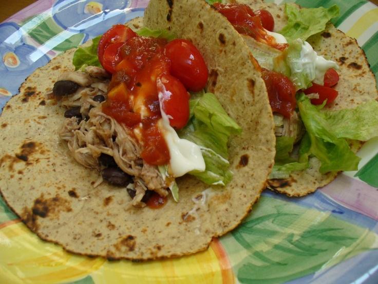 Shredded Chicken Tacos | Fun Food | Pinterest