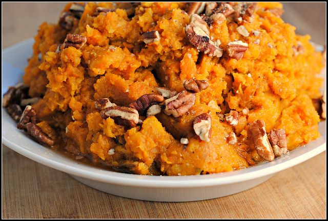 mashed potatoes bourbon mashed sweet potatoes browned butter bourbon ...