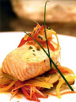 Recipe: Fillet of Salmon Baked in Parchment (Tony De Luca ...