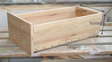 Un meuble faire sois m me diy home sweet idea pinterest - Fabriquer un tiroir coulissant ...