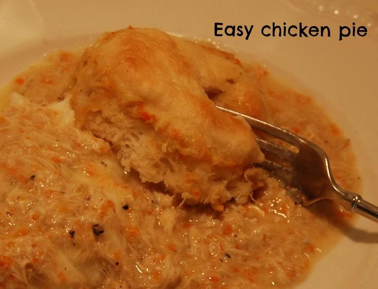 Imparting Grace: Grace for Dinner: Easy Chicken Pot Pie