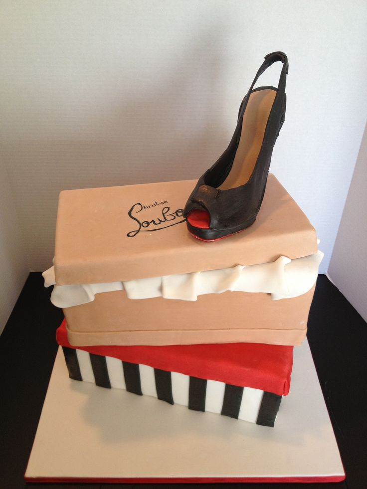 Christian Louboutin Themed Cake