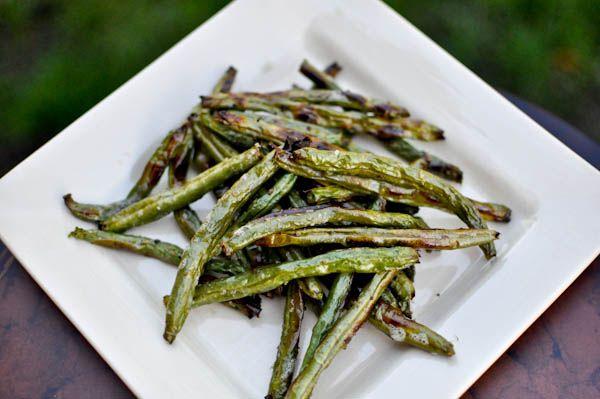 roasted green bean fries