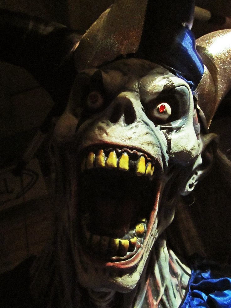 Evil Clown | Haunted | Pinterest