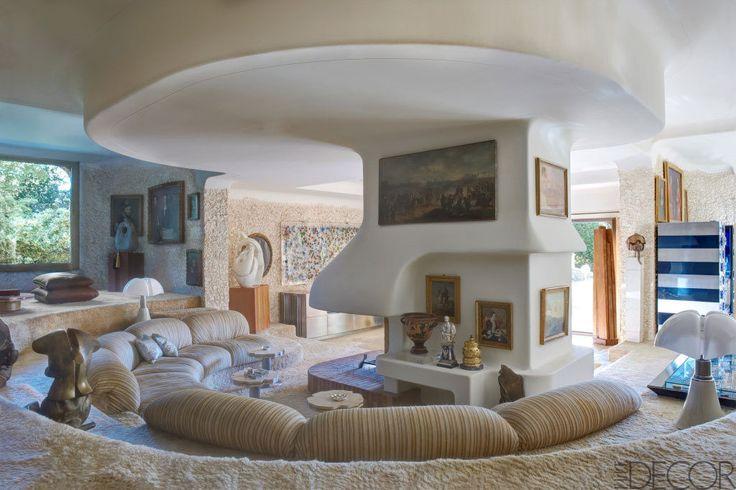 Elle Decor Sunken Living Room Interior Love Pinterest