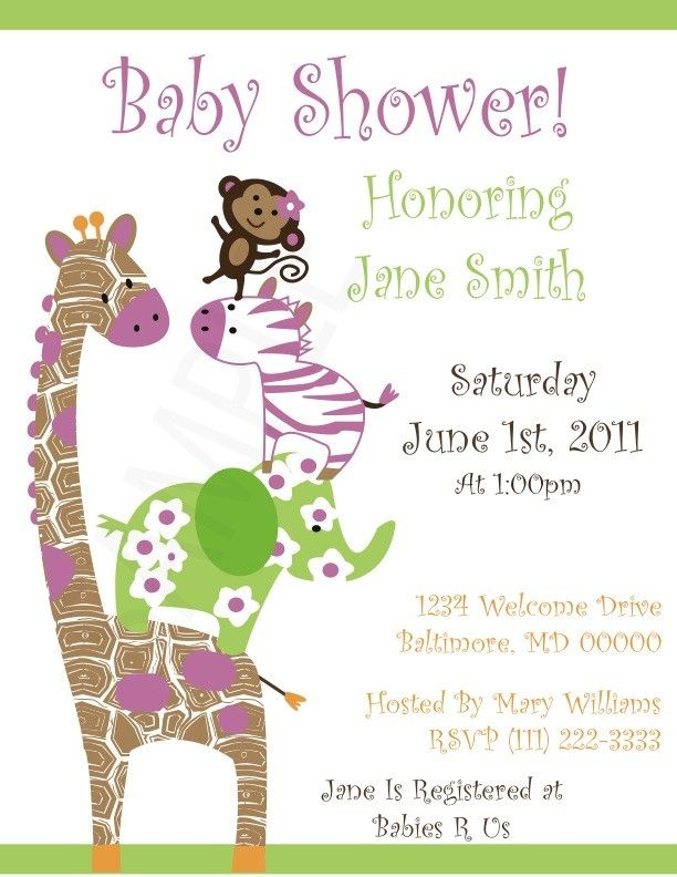 Second Baby Shower Invitations was beautiful invitations template