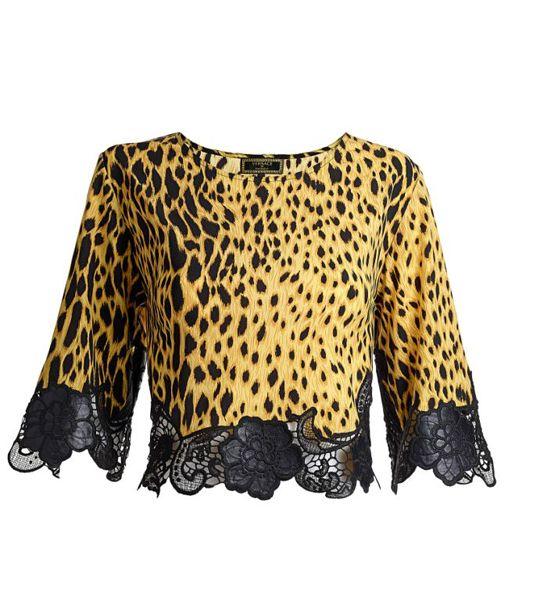 Blusa em animal print: R$ 189,90