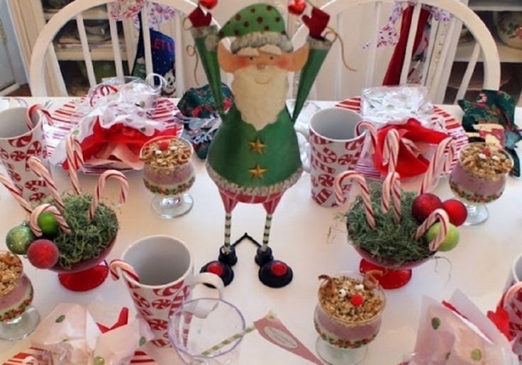 Pinterest Christmas Table Decorations For Kids Photograph