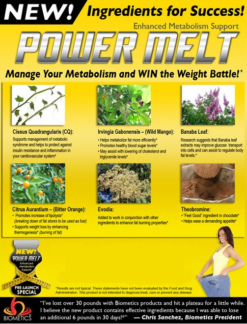 biometrics vitamins supplements