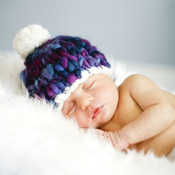 Knitting Pattern Chunky Baby Hat : baby hat in chunky yarn Knit & Crochet Pinterest