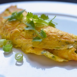 Julia Child's Rolled Omelet - Thai Style | Paleo Recipes | Pinterest