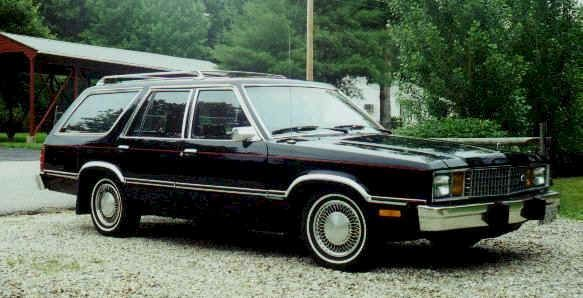 1980 ford fairmont station wagon for upcoming power tour ride 1980