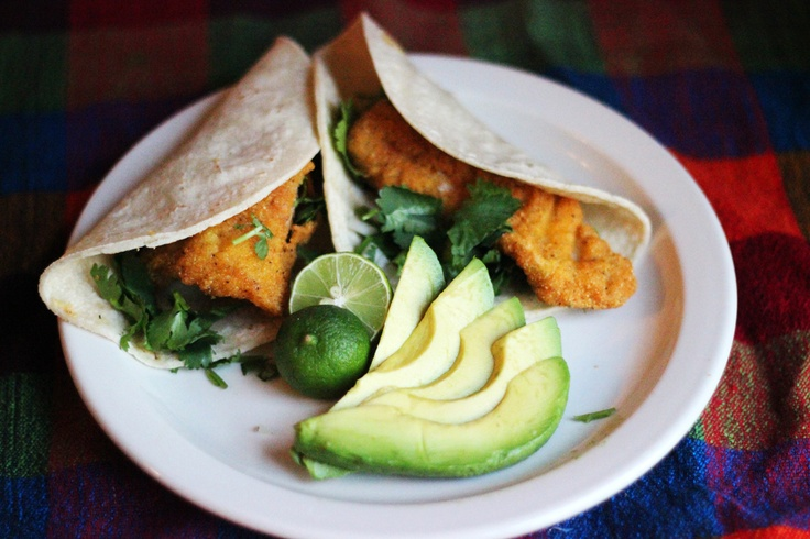 The best fish tacos ever main course pinterest for Best fish for fish tacos