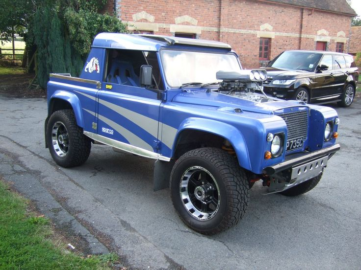 Land Rover Defender 90 Chevy 5 7 V8 Supercharged