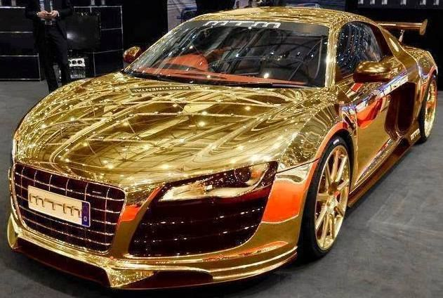 Gold Car Stoere Auto S Pinterest