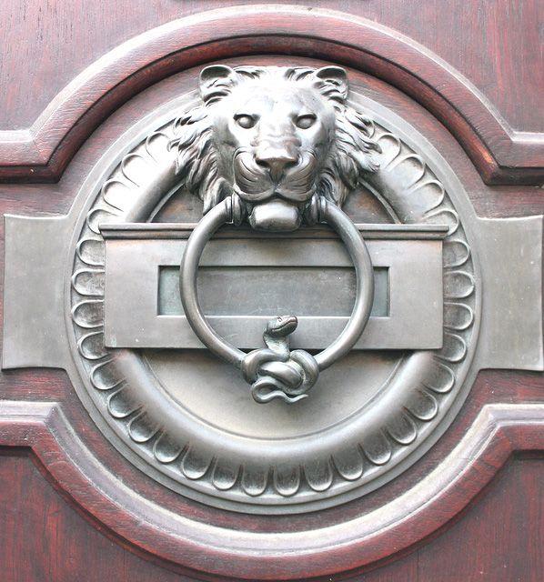 Custom door knocker for my house pinterest for Custom made door knockers