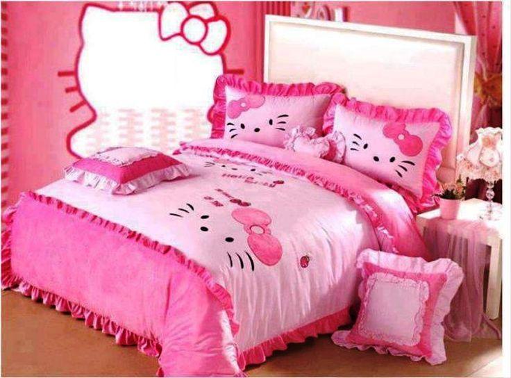 hello kitty bedroom decorating home hello kitty room pinterest