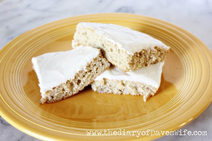 Banana Sheet Cake... yummy! | taste buds | Pinterest