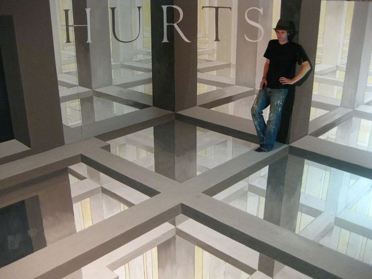 3d floor art 3d art pinterest for Floor 3d painting