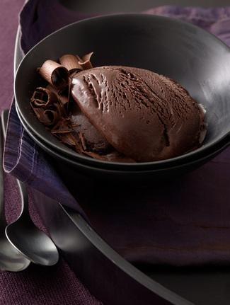 Dark Chocolate Sorbet   Food   Pinterest