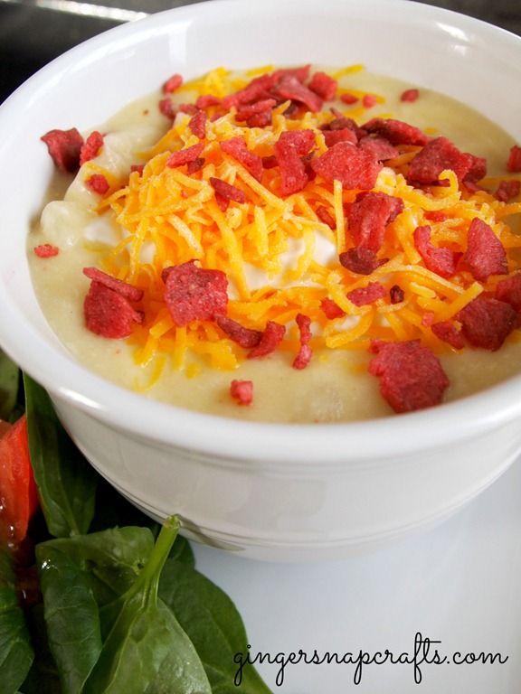 cheesy potato soup {recipe} | Favorite Bites | Pinterest