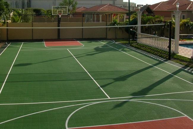 backyard basketball court backyard projects pinterest