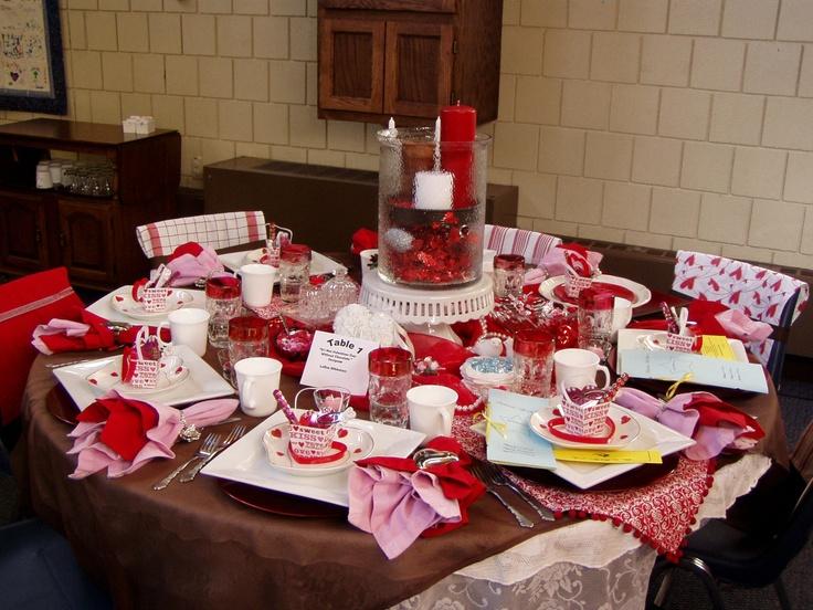 valentine tablescape valentines pinterest