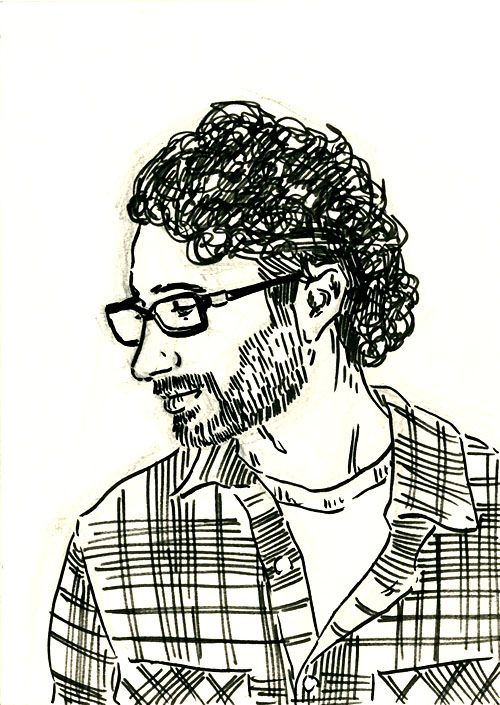 Day 342 - Eric | 365 Portrait Challenge | Pinterest