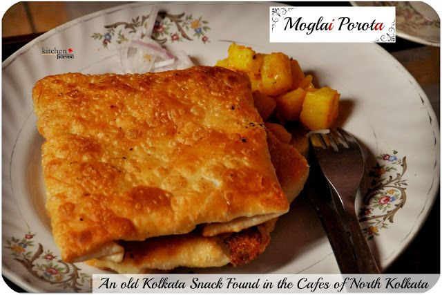 about Moglai Porota? It is a flaky porota/paratha/Indian flat bread ...