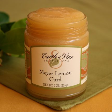 Meyer Lemon Curd A traditional English-type curd made with California ...